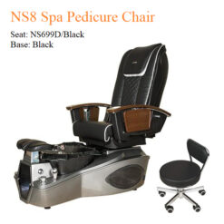NS8 Luxury Spa Pedicure Chair with Magnetic Jet and Built in Remote 01 247x247 - Equipment nail salon furniture manicure pedicure