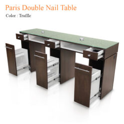 Paris Double Nail Table 84 inches 0 247x247 - Equipment nail salon furniture manicure pedicure