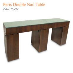 Paris Double Nail Table 84 inches 247x247 - Equipment nail salon furniture manicure pedicure