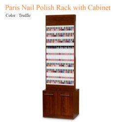 Paris Nail Polish Rack with Cabinet