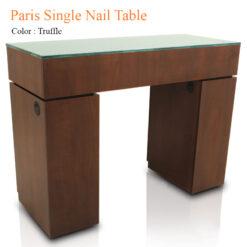 Paris Single Nail Table 42 inches 247x247 - Equipment nail salon furniture manicure pedicure