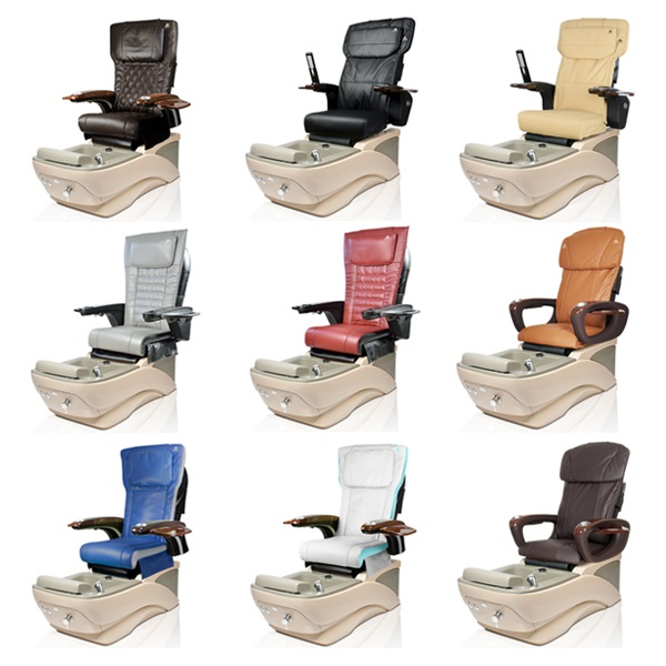 Pavia Spa Pedicure Chair with Magnetic Jet – Human Touch Massage System