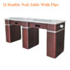 Q Double Nail Table – 73 inches