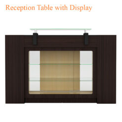Reception Table with Display – 42 inches