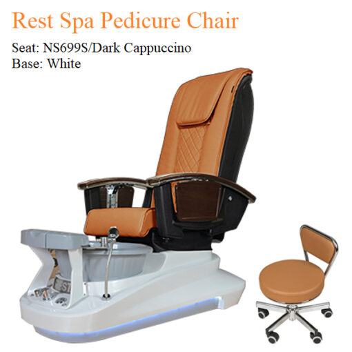 Rest Luxury Spa Pedicure Chair with Magnetic Jet and Built-in-Remote