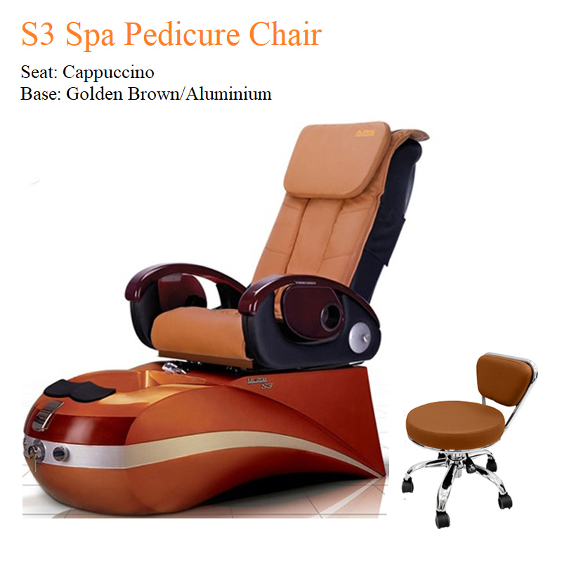 S3 Spa Pedicure Chair with Fully Automatic Massage System