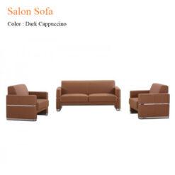 Salon Sofa – Dark Cappuccino