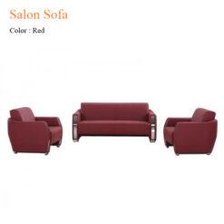 Salon Sofa – Red