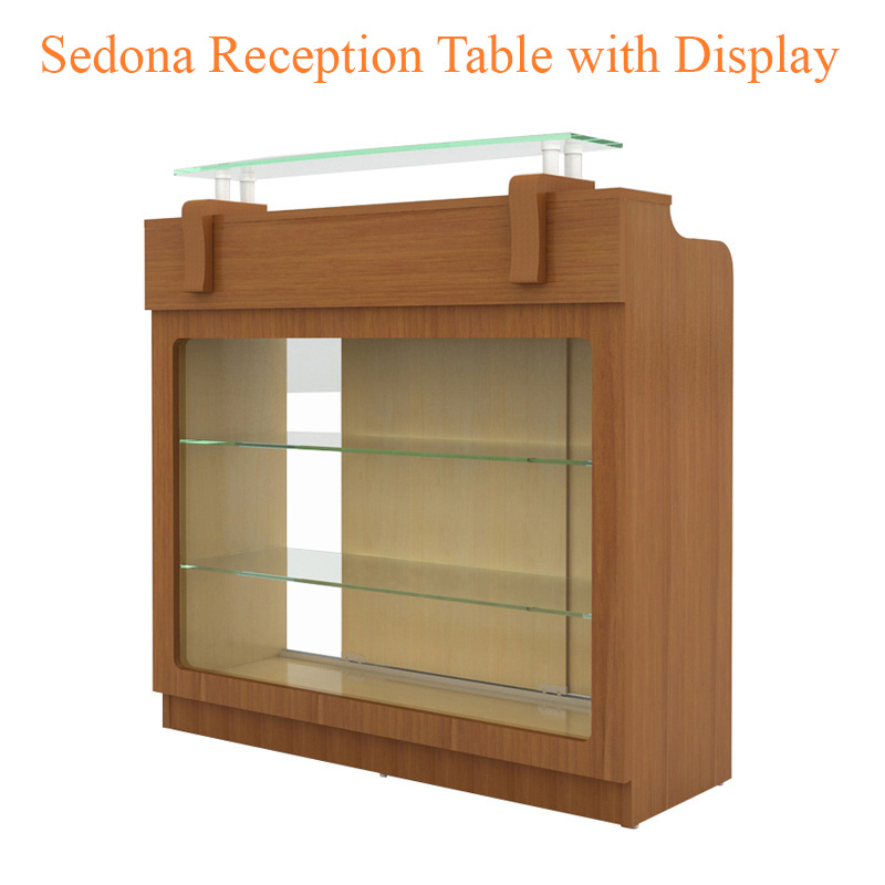 Sedona Reception Table with Display – 42 inches