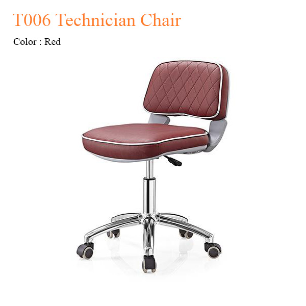 T006 Technician Chair with Trim Line & Diamond Shape