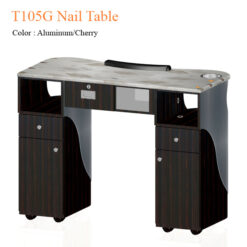 T105G Nail Table 42 inches 0 247x247 - Equipment nail salon furniture manicure pedicure