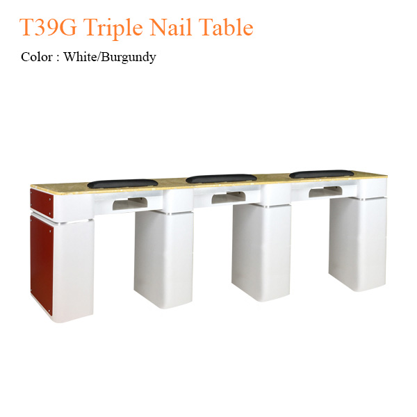 T39G Triple Nail Table – 97 inches