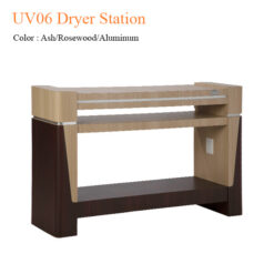 UV06 Dryer Station (Ash/Rosewood/Aluminum) – 59 inches