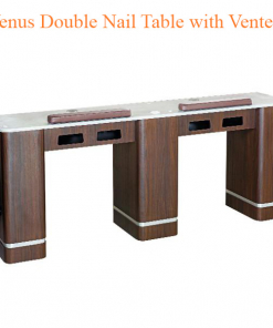 Venus Double Nail Table with Vented – 73 inches