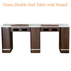 Venus Double Nail Table with Vented 73 inches 247x247 - Equipment nail salon furniture manicure pedicure
