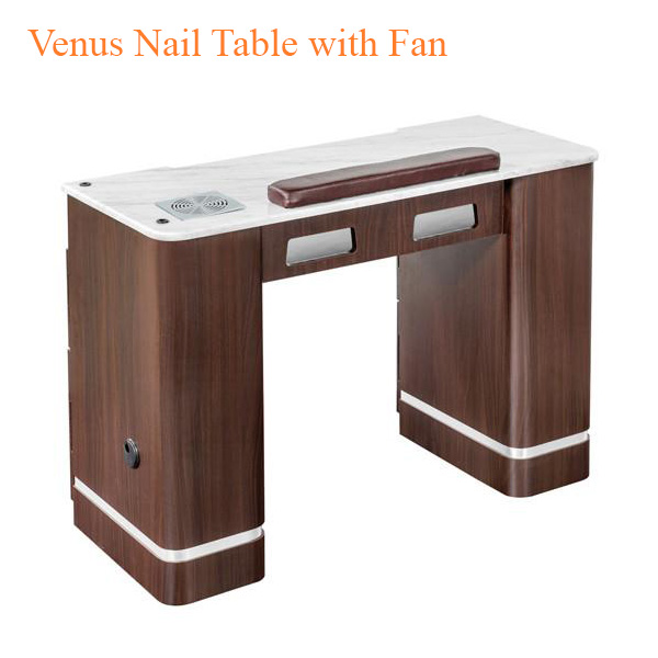 Venus Nail Table with Fan – 41 inches