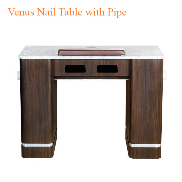 Venus Nail Table with Pipe – 41 inches