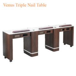 Venus Triple Nail Table 90 inches 0 247x247 - Thiết bị đồ nội thất tiệm nail làm móng tay móng chân