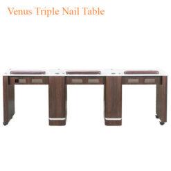 Venus Triple Nail Table 90 inches 247x247 - Thiết bị đồ nội thất tiệm nail làm móng tay móng chân