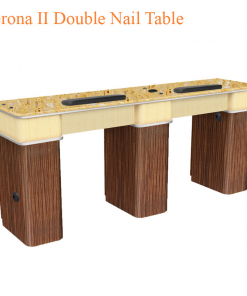 Verona II Double Nail Table – 72 inches