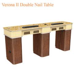 Bàn Nail Đôi Verona II – 72 Inches