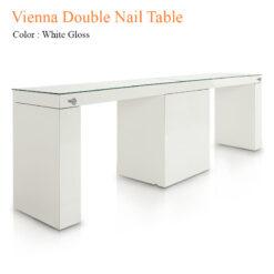 Vienna Double Nail Table 84 inches 0 247x247 - Equipment nail salon furniture manicure pedicure