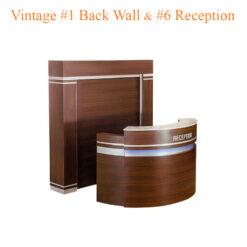 Vintage #1 Back Wall & Vintage #6 Reception (Set)