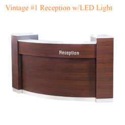 Vintage #1 Reception with LED Light – 84 inches