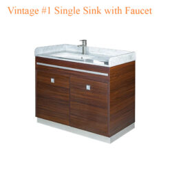 Vintage #1 Single Sink with Faucet – 39 inches