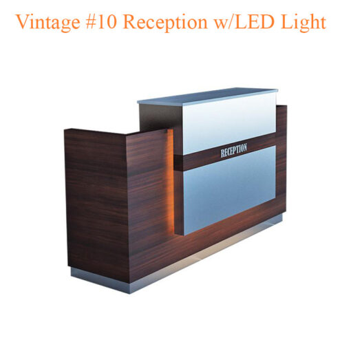 Vintage #10 Reception with LED Light – 84 inches