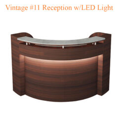 Vintage #11 Reception with LED Light – 72 inches