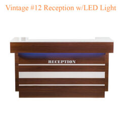 Vintage #12 Reception with LED Light – 74 inches