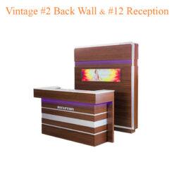 Vintage #2 Back Wall & Vintage #12 Reception (Set)