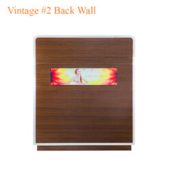 Vintage #2 Back Wall w/Poster – w/Polish Rack – 84 inches