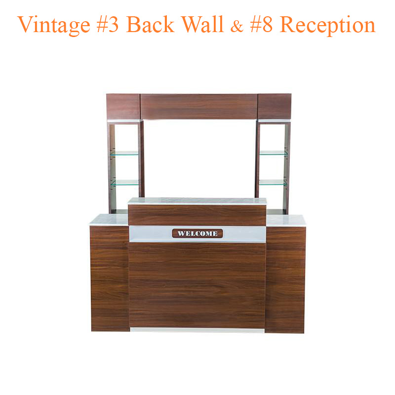 Vintage #3 Back Wall & Vintage #8 Reception (Set)