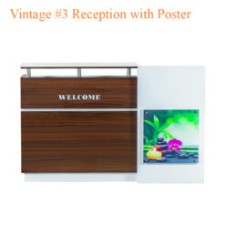 Vintage #3 Reception with Poster