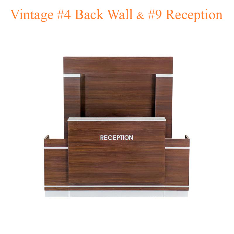 Vintage #4 Back Wall & Vintage #9 Reception (Set)