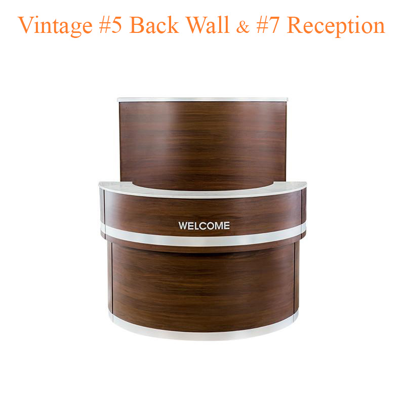 Vintage #5 Back Wall & Vintage #7 Reception (Set)