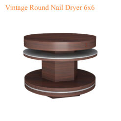 Vintage Round Nail Dryer 6x6 46 inches 0 247x247 - Equipment nail salon furniture manicure pedicure