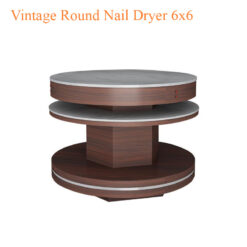 Vintage Round Nail Dryer 6x6 46 inches 247x247 - Equipment nail salon furniture manicure pedicure
