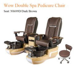 Wow Double Luxury Spa Pedicure Chair with Magnetic Jet and Built in Remote 01 247x247 - Equipment nail salon furniture manicure pedicure