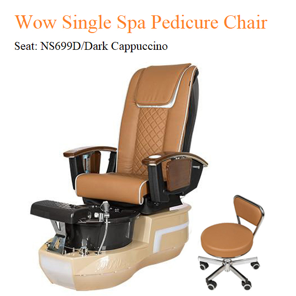 Wow Single Spa Pedicure Chair with Magnetic Jet and Built-in-Remote