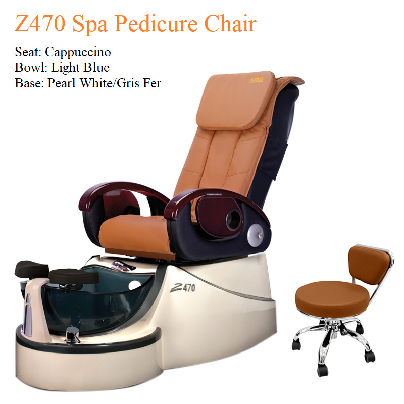 Z470 Spa Pedicure Chair with Fully Automatic Massage System