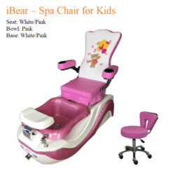 iBear – Spa Chair for Kids with Magnetic Jet 01 247x247 - Equipment nail salon furniture manicure pedicure