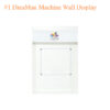 #2 DreaMau Machine Cabinet – Set of 3 Display – White – 90 inches