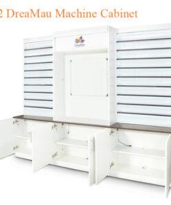 #2 DreaMau Machine Cabinet – Set of 3 Display – White – 90 inches