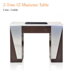 2-Tone #2 Manicure Table – 42 inches