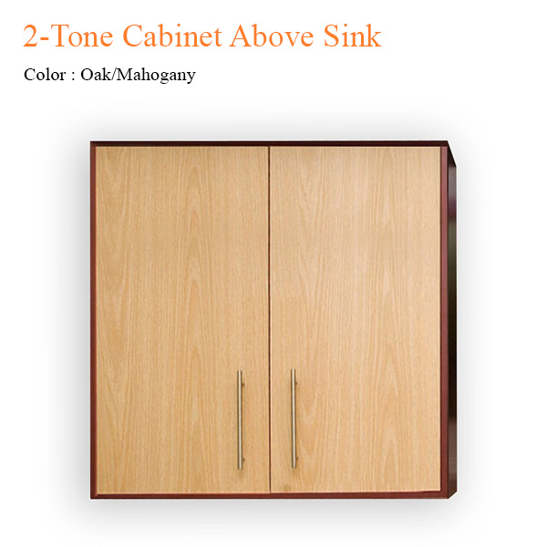 2-Tone Cabinet Above Sink – 36 inches