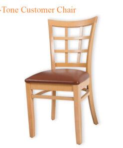 2-Tone Customer Chair – 46 inches
