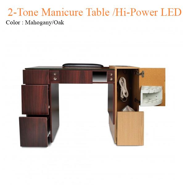 Bàn Nail2-Tone Dùng Quạt Và Đèn LED Công Suất Cao – 42 Inches